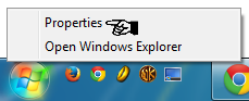 "Disable the New Program Alerts by right clicking the ""Start menu"" button and select ""Properties"""