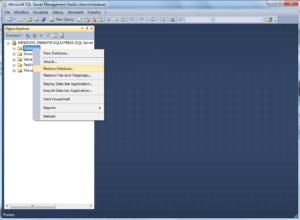 Import MSSQL bak databases to MySQL - 02