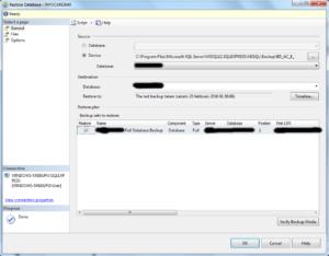 Import MSSQL bak databases to MySQL - 03