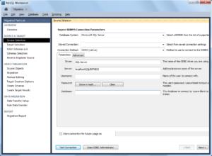 Import MSSQL bak databases to MySQL - 07