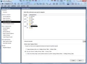 Import MSSQL bak databases to MySQL - 09