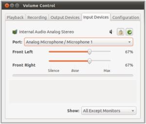 Set Skype PulseAudio microphone - step 01