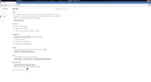 Chrome - Settings