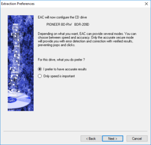Convert CD to MP3 - Exact Audio Copy