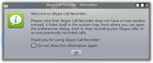 Skype call recorder - part 1