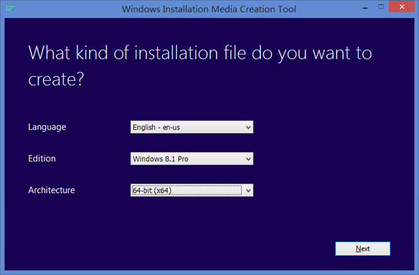 Microsoft Windows 8 Installation