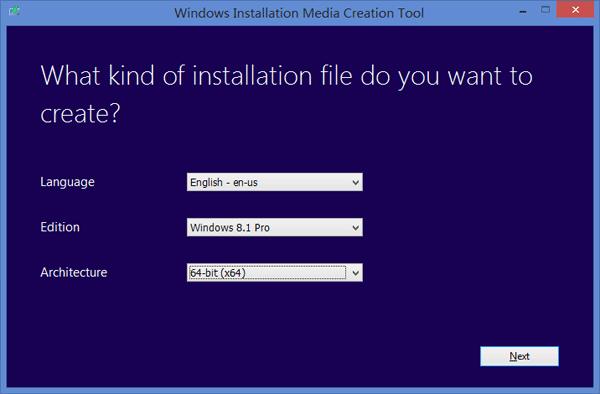Microsoft Windows 8 Installation